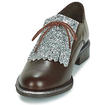 André FATOU Marrón - Envío gratis |  - Zapatos Derbie Mujer 7120