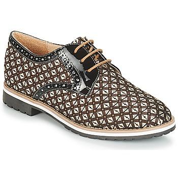Zapatos Mujer Derbie André DERIVEUR Marrón