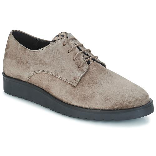 Zapatos Mujer Derbie André TONNER Beige