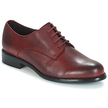 Zapatos Mujer Derbie André LOUKOUM Rojo