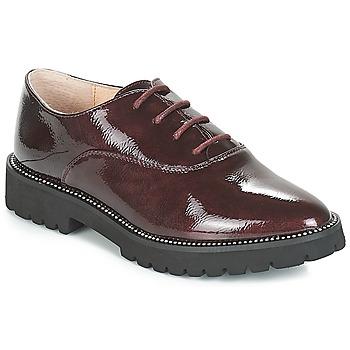 Zapatos Mujer Derbie André ALIBI Burdeo