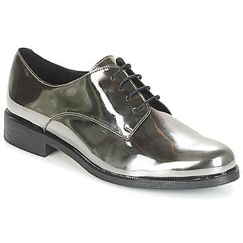 Zapatos Mujer Derbie André LOUKOUM Plata