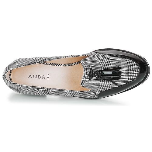 Mujer André Negro Mocasín Zapatos Emotion EWIDH9Y2