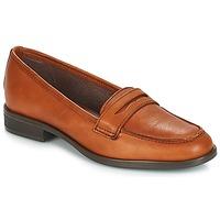 Zapatos Mujer Mocasín André TILDE Marrón