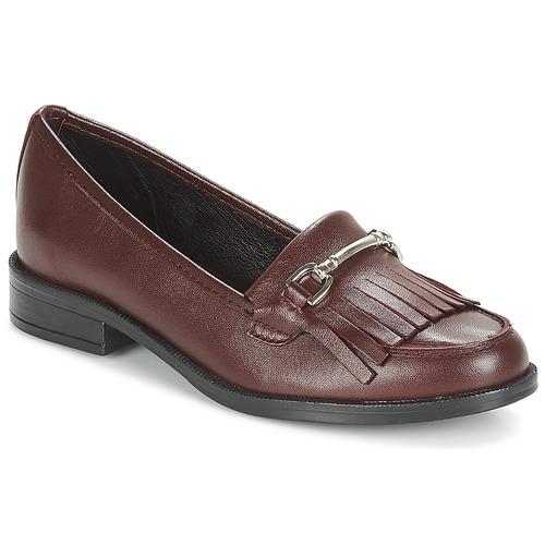 Zapatos Mujer Mocasín André TYRI Burdeo
