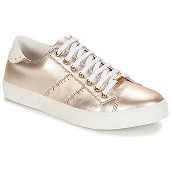 Zapatos Mujer Zapatillas bajas André BERKELEY Plata