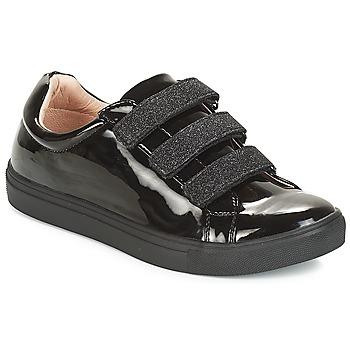 Zapatos Mujer Zapatillas bajas André THYMUS Negro