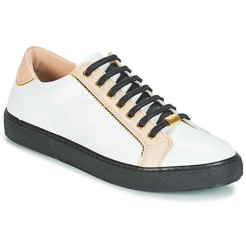 André Berkelita Blanco Mujer Zapatillas Zapatos Bajas droxeWCB