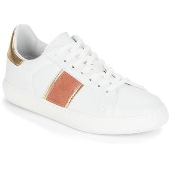 Zapatos Mujer Zapatillas bajas André FRISBEE Blanco