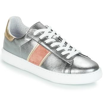 Zapatos Mujer Zapatillas bajas André FRISBEE Plata