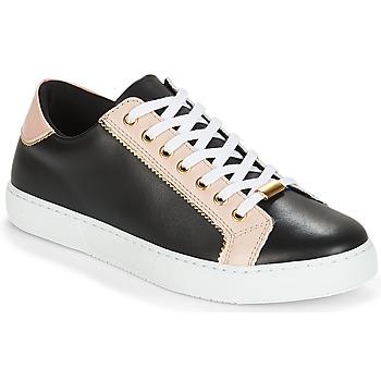 Zapatos Mujer Zapatillas bajas André BERKELITA Negro / Beige