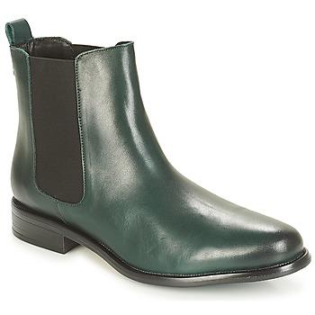 Zapatos Mujer Botas de caña baja André CARAMEL Verde