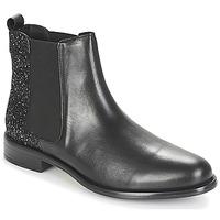 Zapatos Mujer Botas de caña baja André BEBOP Negro