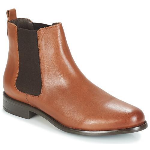 Zapatos Mujer Botines André CARAMEL Marrón