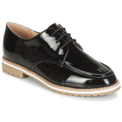 André CHARLELIE Negro - Envío gratis | ! - Zapatos Derbie Mujer