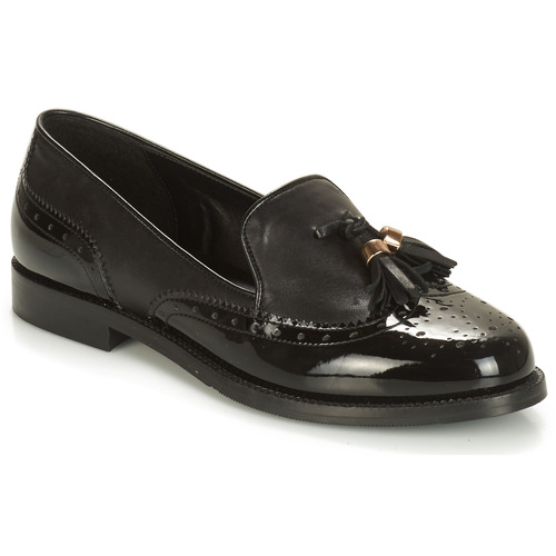 André PELICAN Negro - Envío gratis   ! - Zapatos Mocasín Mujer