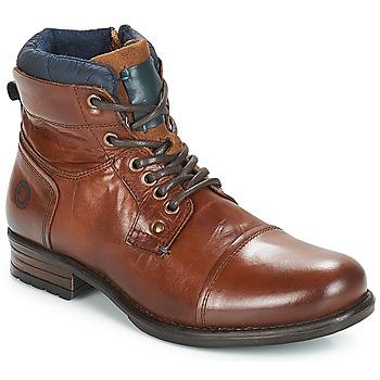 Zapatos Hombre Botas de caña baja André SACLAY Marrón