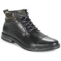 Zapatos Hombre Botas de caña baja André VERON Negro