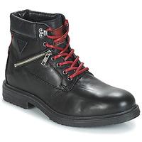 Zapatos Hombre Botas de caña baja André MORRO Negro