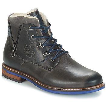 Zapatos Hombre Botas de caña baja André GUINEE Negro