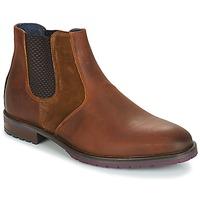 Zapatos Hombre Botas de caña baja André CLAUDIO Marrón