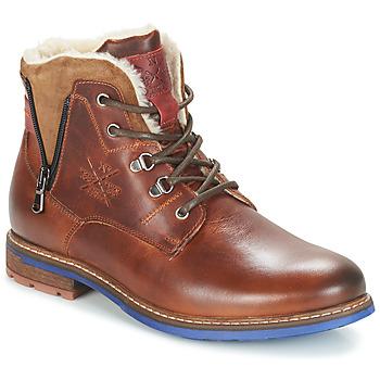Zapatos Hombre Botas de caña baja André GUINEE Marrón