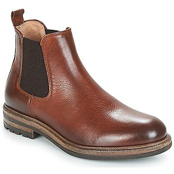 Zapatos Hombre Botas de caña baja André SOPRANO Marrón