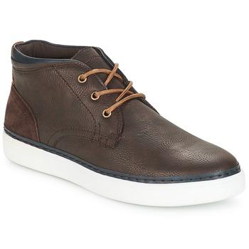 Zapatos Hombre Zapatillas altas André PAPIER Marrón