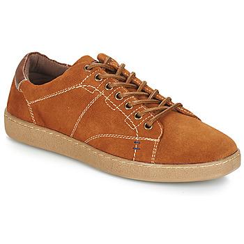 Zapatos Hombre Zapatillas bajas André LENNO Marrón