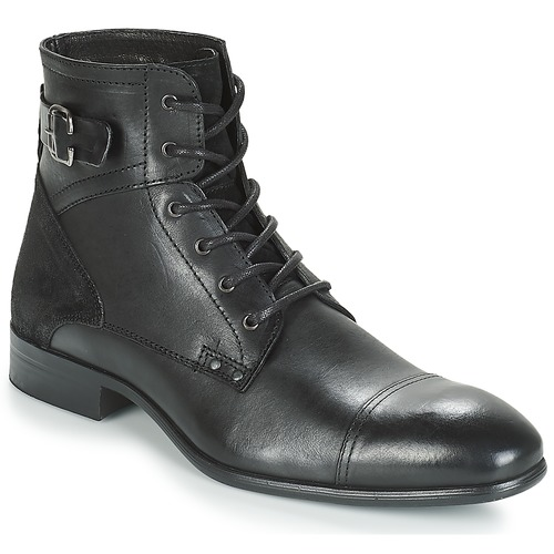 André PHILIPPE Negro - Envío gratis | ! - Zapatos Botas de caña baja Hombre