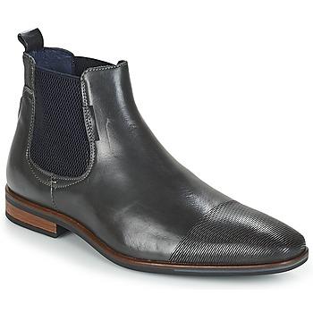 Zapatos Hombre Botas de caña baja André PLEO Gris