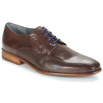 Zapatos Hombre Derbie André ISLANDE Marrón