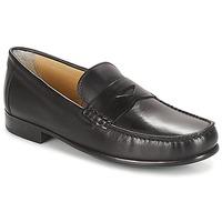 Zapatos Hombre Mocasín André BUREAU Negro