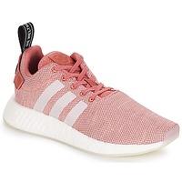 Zapatos Mujer Zapatillas bajas adidas Originals NMD R2 W Rosa
