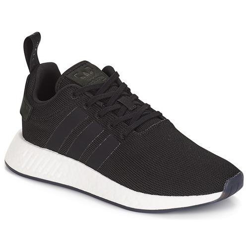 Zapatos especiales para hombres y mujeres Negro adidas Originals NMD R2 Negro mujeres b583fd