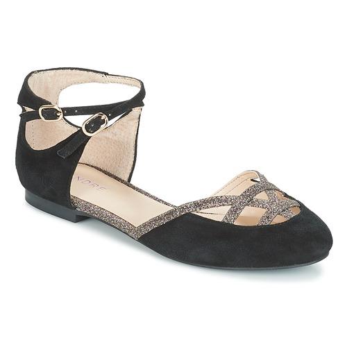 André Negro Bailarinas Poupette manoletinas Zapatos Mujer Ybf76vgy