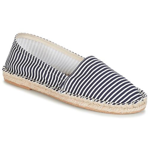 André JAMAIQUE Rayas / Azul - Envío gratis   ! - Zapatos Alpargatas Mujer