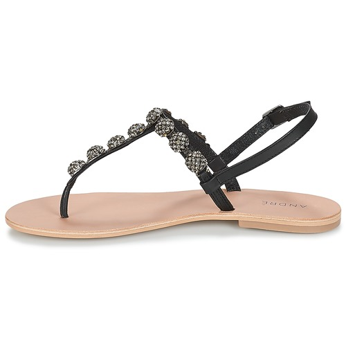 Zapatos André Chanclas Negro Lahori Mujer hCxtsdQr