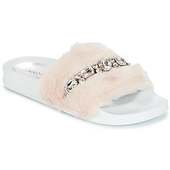 Zapatos Mujer Chanclas André DIADEME Blanco