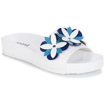 Zapatos Mujer Zuecos (Mules) André GARDENIA Azul