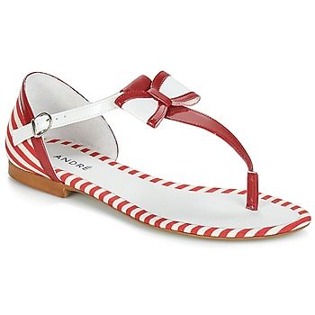 Zapatos Mujer Sandalias André DORINE Rojo