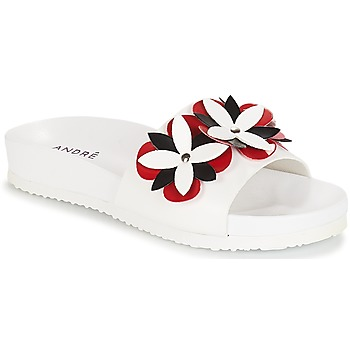 Zapatos Mujer Chanclas André GARDENIA Blanco
