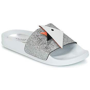 Zapatos Mujer Sandalias André SWIMMING Plateado