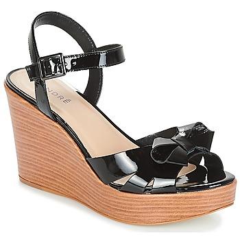 Zapatos Mujer Sandalias André DOME Negro