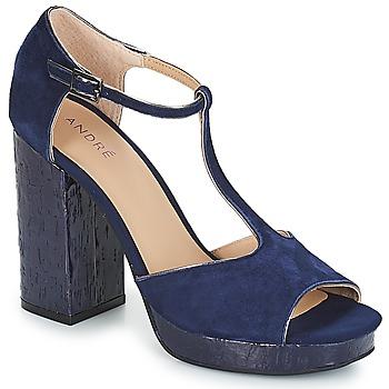 Zapatos Mujer Sandalias André TORRIDE Marino