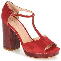 Zapatos Mujer Sandalias André TORRIDE Rojo