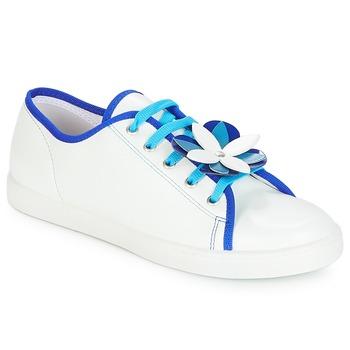 Zapatos Mujer Zapatillas bajas André GUIMAUVE Blanco