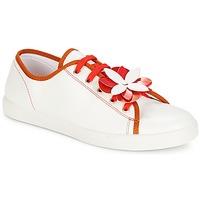 Zapatos Mujer Zapatillas bajas André GUIMAUVE Rojo