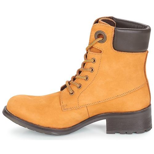 Botas Caña Zapatos De Baja Mujer André Meije Camel dBxoeC