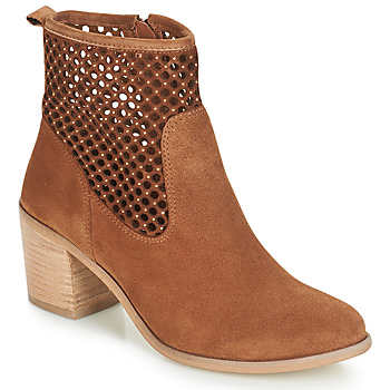 Zapatos Mujer Botines André TOTEM Camel